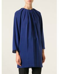 Vionnet Gathered Dress - Lyst