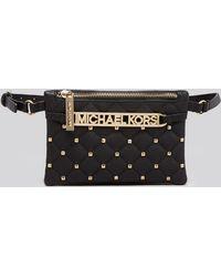 MICHAEL Michael Kors Belt Bag - Mk Quilted - Lyst