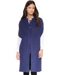 Line & Dot - Oversized Vest - Lyst