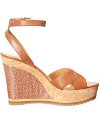 Nine West Beige Wakely - Lyst