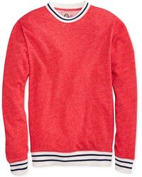American Rag Marled Crew-neck Varsity Pullover - Lyst