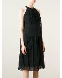 Lutz Huelle - 'riche' Pleated Dress - Lyst