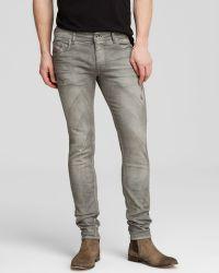Diesel Jeans - Sleenker Super Slim Fit In Grey - Bloomingdale'S Exclusive - Lyst