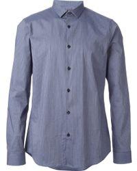 Michael Kors Slim Fit Shirt - Lyst