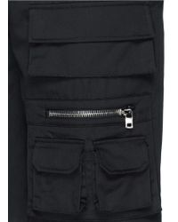 Givenchy Cargo Pocket Bermuda Shorts - Black