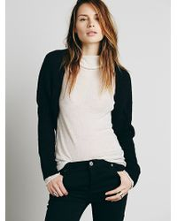 Free People Black Solid Shrug - Lyst