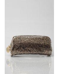 Deux Lux Glitter Makeup Bag - Black