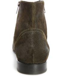 Pete Sorensen   Hurricane Double-zip Khaki Suede Boots   Lyst