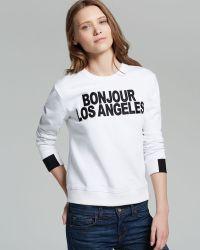 Aiko - Sweatshirt Giacomo Bonjour Los Angeles - Lyst