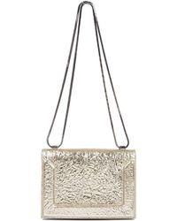3.1 Phillip Lim Metallic Crinkle Shoulder Bag - Lyst