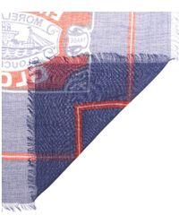 Anya Hindmarch - England'S Glory Printed Scarf - Lyst