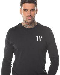 11 Degrees Core Long Sleeve T-shirt - Black