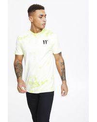 11 Degrees Acid Wash T-shirt - Multicolour
