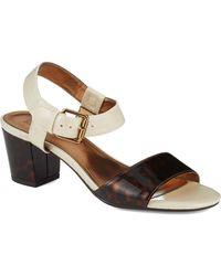 Anne Klein Brown Petrona Sandals - Lyst