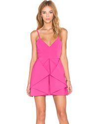 AQ/AQ - Vipery Mini Dress - Lyst