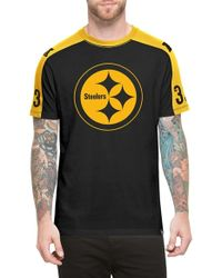 47 Brand - 'Pittsburgh Steelers - Pointman' Short Sleeve Crewneck T-Shirt - Lyst