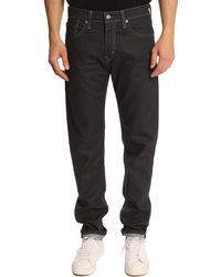 Levi's 508 Charcoal Grey Fitted Tapered Jeans - Lyst