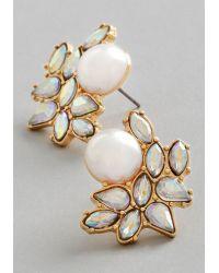 Adia Kibur - Photo Opulence Earrings in Gold - Lyst