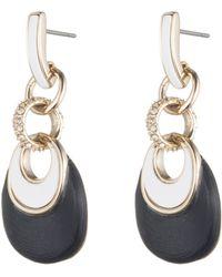 Alexis Bittar | Encrusted Infinity Link Dangle Post Earrings | Lyst