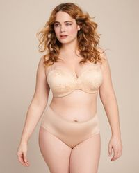 Curvy Couture Strapless Sensation Multi-way Push-up - Natural