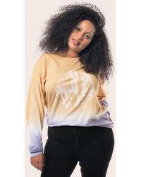 Baja East Tie Dye Long Sleeve T-shirt - Multicolor