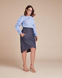 Tracy Reese - Directional Skirt - Lyst