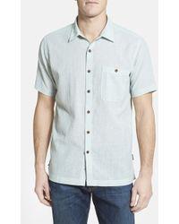 Patagonia 'A/C' Regular Fit Organic Cotton Short Sleeve Sport Shirt - Lyst