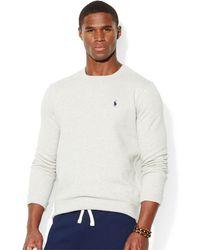 Polo Ralph Lauren Classic Fleece Crew-neck Sweater - Lyst