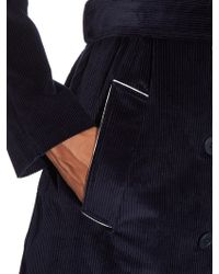 Tomas Maier - Corduroy Trench Coat - Lyst