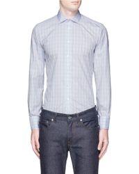 Turnbull & Asser | Regent Collar Check Poplin Shirt | Lyst