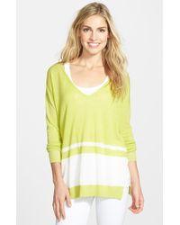 Splendid 'Highland' Stripe Sweater - Lyst