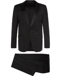 BOSS | 'housten/glorius' | Slim Fit, Virgin Wool Tuxedo | Lyst