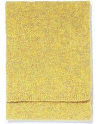 Zara Special Knit Scarf - Lyst