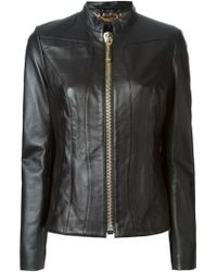 Philipp Plein Black Fitted Jacket - Lyst