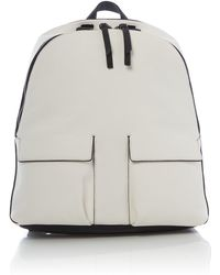 Kenneth Cole - White And Black Backpack - Lyst