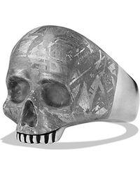 David Yurman Skull Ring - Lyst