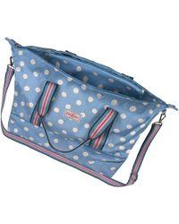 Cath Kidston - Button Spot Foldaway Double Decker Travel Bag - Lyst
