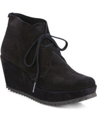 Pedro Garcia Fulvia Suede Ankle Boots - Lyst