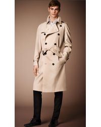 Burberry The Westminster - Long Heritage Trench Coat beige - Lyst