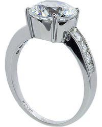 Carat* - Round Brilliant 2.5ct Solitaire Ring - Lyst