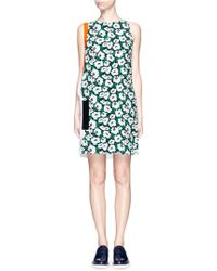Stella McCartney | 'odile' Poppy Print Crepe Dress | Lyst