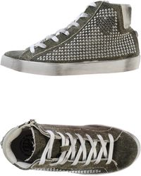 Fred Mello - Studded High-Top Sneakers - Lyst