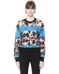 Alexander Wang Tie Dye Burn Out Sweater - Lyst
