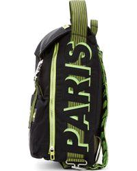 Kenzo Black Neon Trim Backpack - Lyst