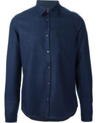 Kenzo Blue Classic Shirt - Lyst
