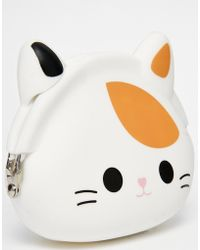 Asos Jelly Ginger Cat Coin Purse - Lyst