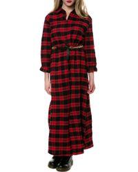 Reverse The Plaid Kimono - Lyst