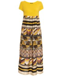 Weekend by Maxmara Pernice Printed Maxi Dress - Lyst