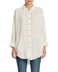 Free People Indian Summer Cotton Top - Lyst