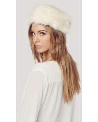 Unreal Fur | Natasha Hat | Lyst